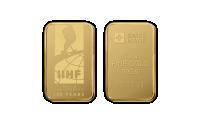 Zlatá medaila v tvare tehličky, 100 výročie MS v v ľadovom hokeji