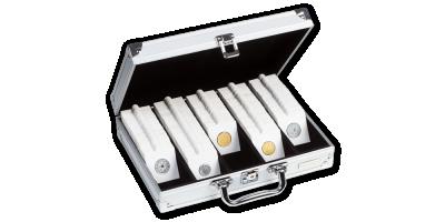 Kufor na 650 mincových rámčekov MATRIX