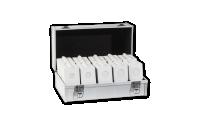Sada bielych mincových ramčeků MATRIX, 1000 ks   kufor ZADARMO