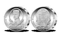 M. R. Štefánik - pamätná medaila z rýdzeho striebra 999/1000