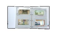 Svetové meny - album plný bankovek z 50 krajín