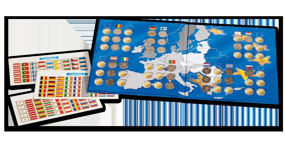 Album na 2-eurové mince PRESSO