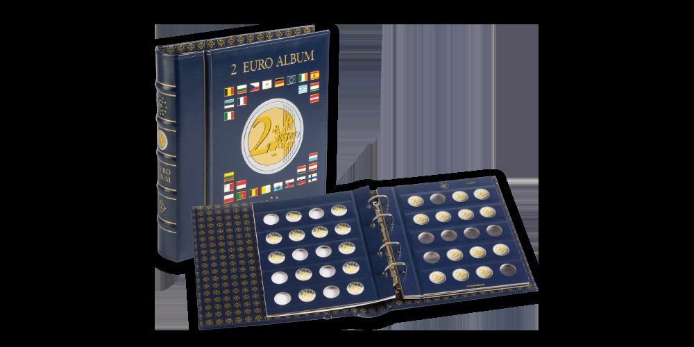 Album na 2-eurové mince VISTA