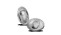 Apollo 11 Strieborná konkávná minca k 50. výročiu pristátia na Mesiaci