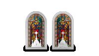 Slávna vitráž baziliky svätého Štefana v Budapešti
