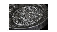 Štít bohyne Atény na striebornej minci