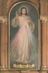 Zázračný obraz Božie Milosrdenstvo