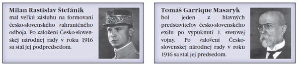 M. R. Štefánik a T. G. Masaryk