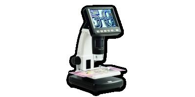 Digitálny mikroskop s LCD DM3 a zväčšením 10-500x
