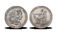 25. výročie svadby Františka Jozefa I. a Sissi na originálnej historickej minci zo striebra 900/1000