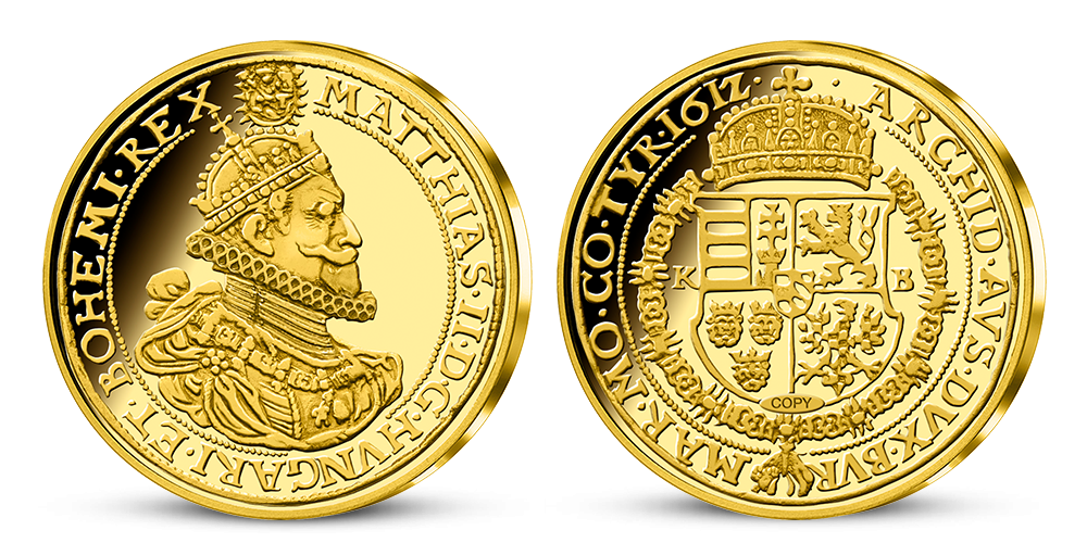 10 dukát Mateja II.