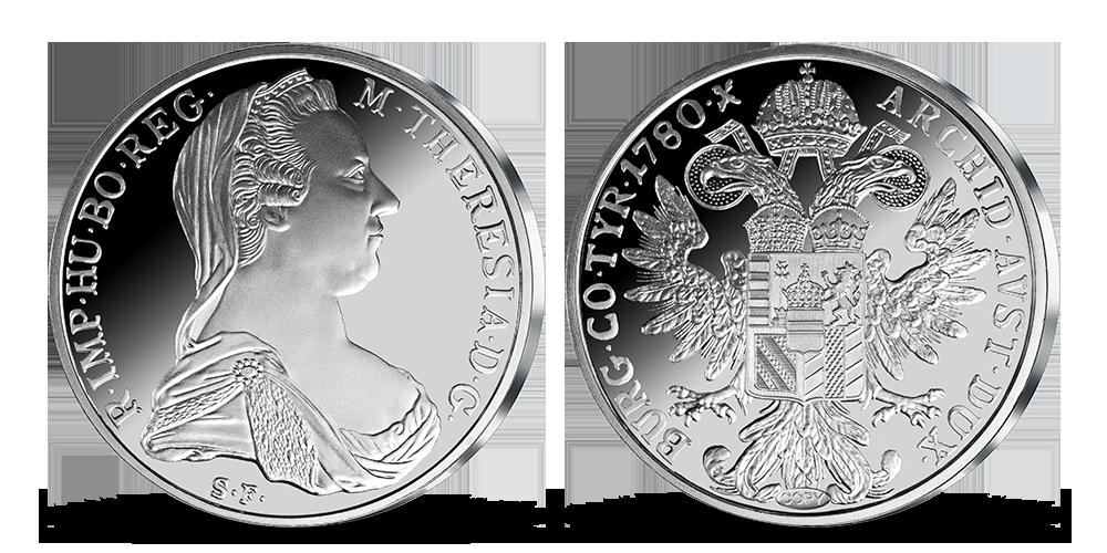 Levantský toliar – legedárna minca uctená rýdzim striebrom