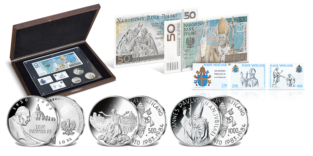 Unikátna historická sada k 100. výročiu narodenia Jána Pavla II.