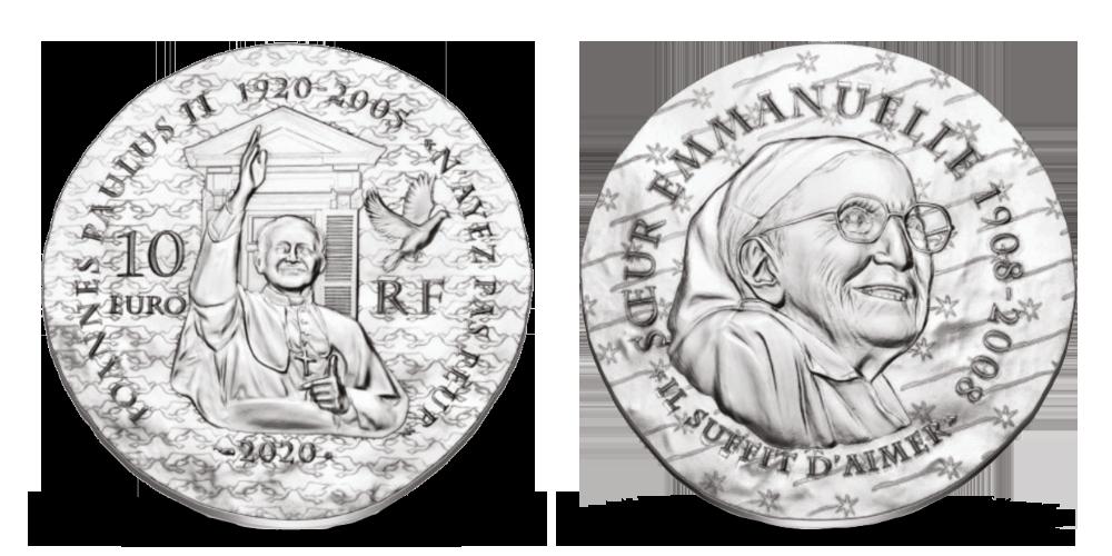 Strieborná minca uctievajúca významné náboženské osobnosti!