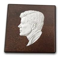 Elegantný box s motívom J. F. Kennedyho