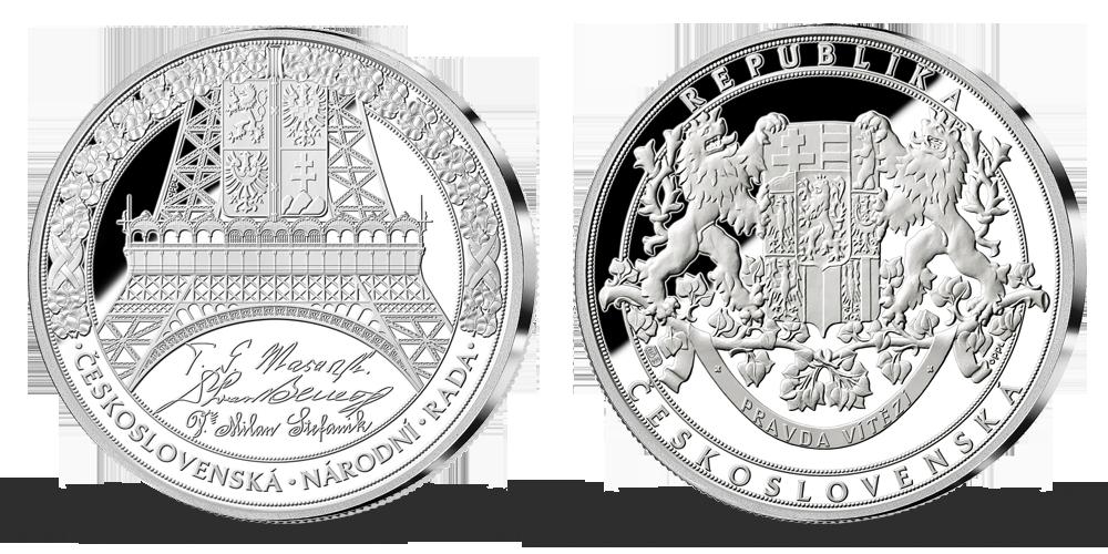 Vznik Česko-Slovenska v rýdzom striebre - Česko-Slovenská národná rada