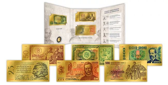 Ďalšie repliky bankoviek