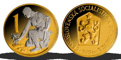 Kolekcia: Najobľúbenejšie česko-slovenské mince