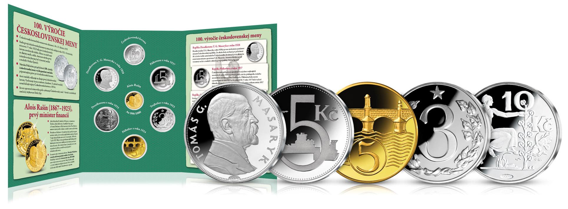 Ďalšie numizmaty a jedinečný numizmatický album k ich uloženiu