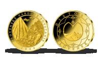 Pozlátená pamätná medaila Slovenské národné povstanie