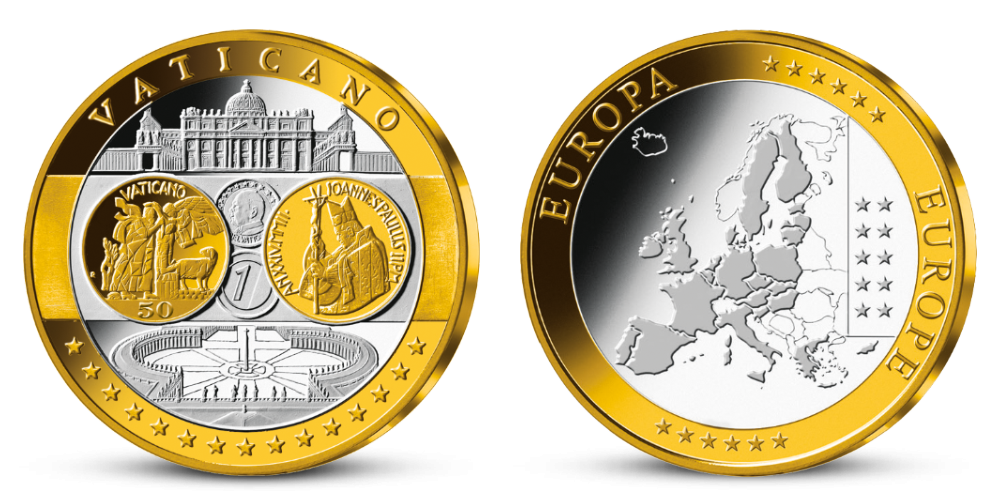 Pamätná medaila - Spoločná európska mena, Slovensko