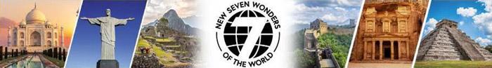 Kolekcia 7 nových divov sveta