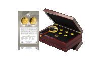 Príslušenstvo zadarmo: numizmatický box, lupa, Osvedčenie o kvalite, Osvedčenie o vlastníctve