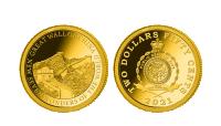 Zlatá minca Veľký čínsky múr