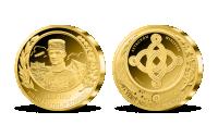 Život M. R. Štefánika - 100. výročie hrdinu národa uctené rýdzim zlatom!