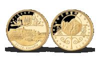 Zlatá pamätná medaila - Spišský hrad