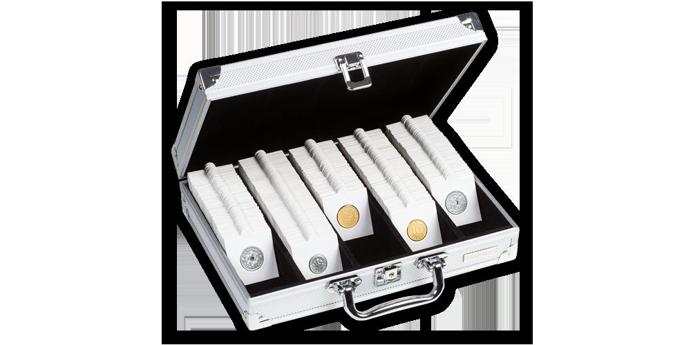 Kufor na 650 mincových ramečků MATRIX