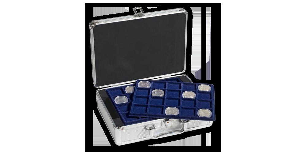 Kufor na mince CARGO S6 na 120 mincí