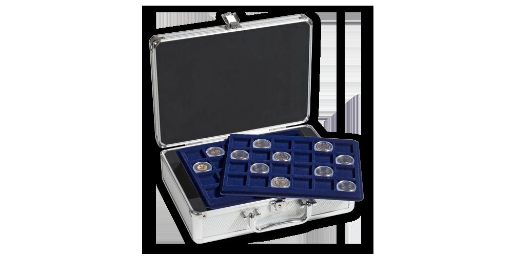 Kufrík na 112 mincí