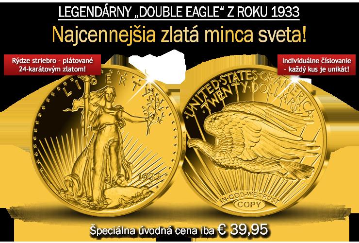 Legendárny Double Eagle z roku 1933