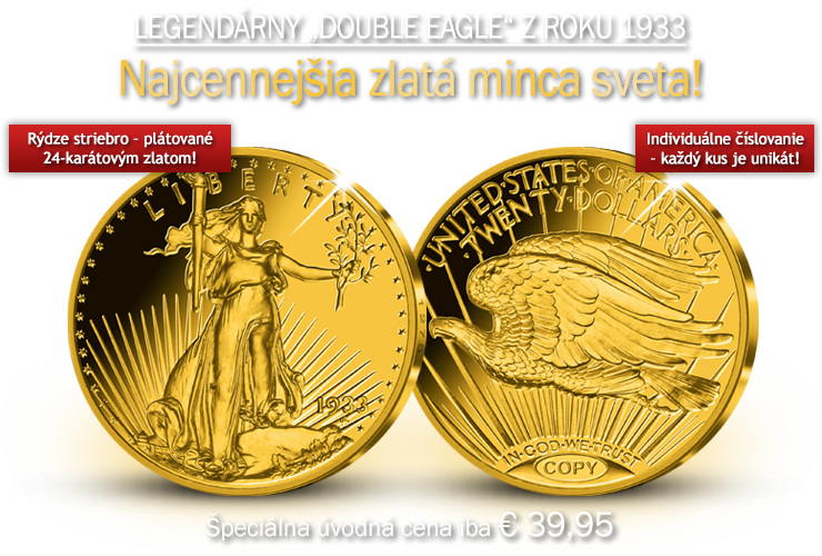 Legendárny Double Eagle z roku 1933