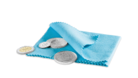 Leštiaca handrička na mince