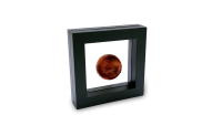 Strieborná minca v tvare planéty Mars v jednej unci rýdzeho striebra