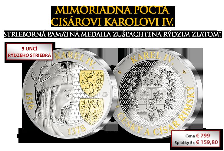 Mimoriadna pocta cisárovi Karolovi IV.