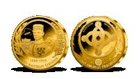 Pamätná medaila k 140. výročiu narodenia M. R. Štefánika