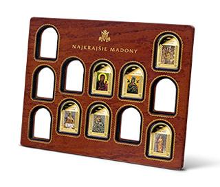 Originálna zberateľská drevená kazeta k bezpečnému uloženiu a prezentácii medailí