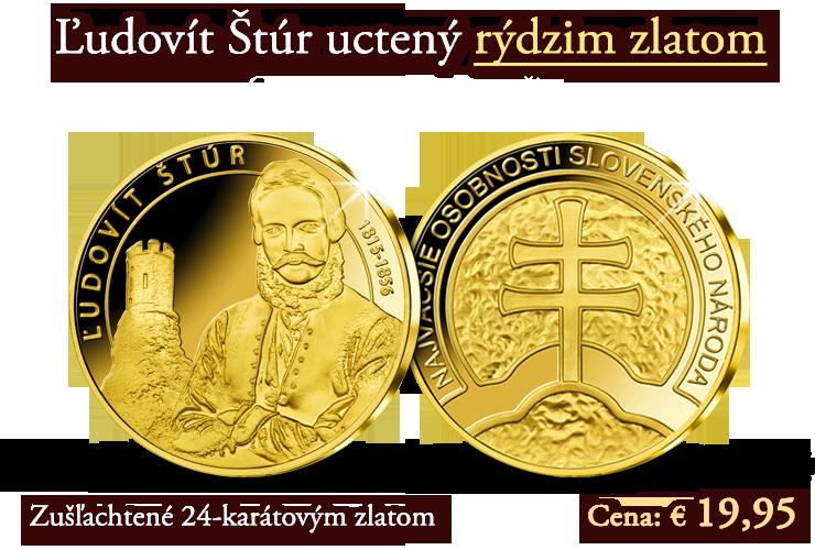 Otec spisovnej slovenčiny uctený rýdzim zlatom!