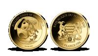 Kolekcia: Najvyhľadávanejšie zlaté mince sveta Panda