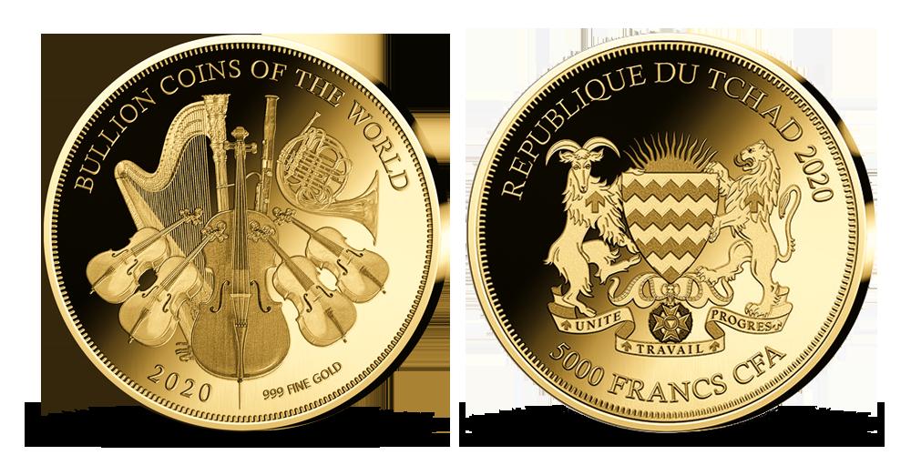 Kolekcia: Najvyhľadávanejšie zlaté mince sveta Filharmonik