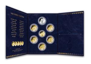 Numizmatický album na uloženie a prezentovanie vašich medailí