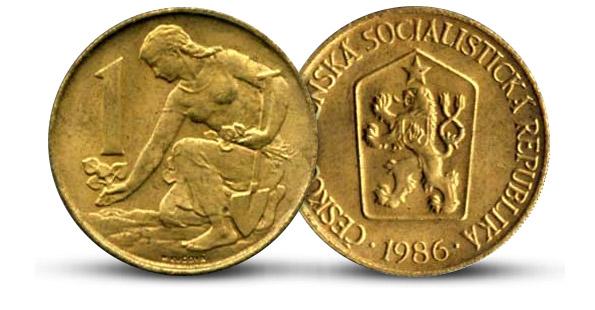 Legendárna československá koruna