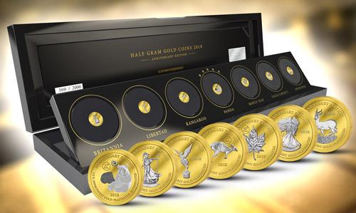 Bullion coins - pýcha svetových mincovní