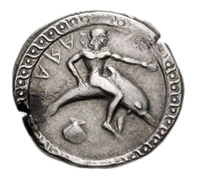Delfín na minci