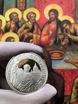 12 Apoštolov v rýdzom striebre - novinka v Národnej Pokladnici