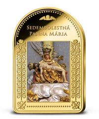 Sedembolestná Panna Mária - Patrónka Slovenska uctená rýdzim zlatom