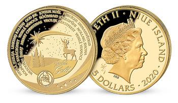 Zlatá vianočná minca, ktorá vykúzli úsmev Vám aj opusteným deťom